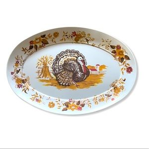 Apollo Wear Melmac Vintage Turkey Serving Platter